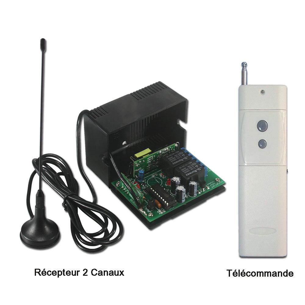 Commande radio tag r cepteur radio for Moteur porte de garage magic 1000